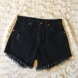 Wrangler Denim Cutoff Shorts Sz 28